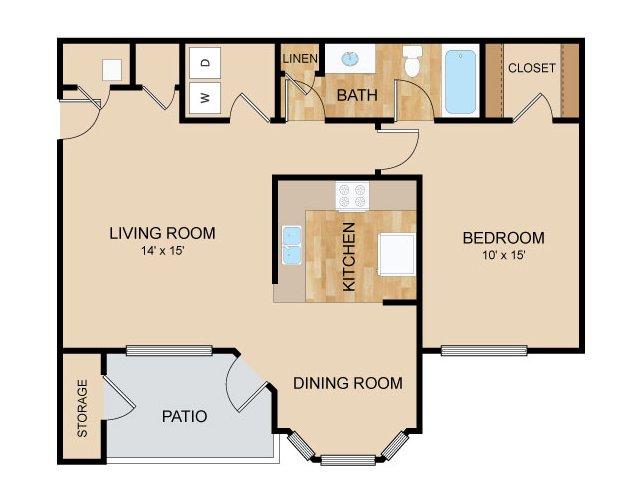 Floor Plan   Autumn Grove Apartments