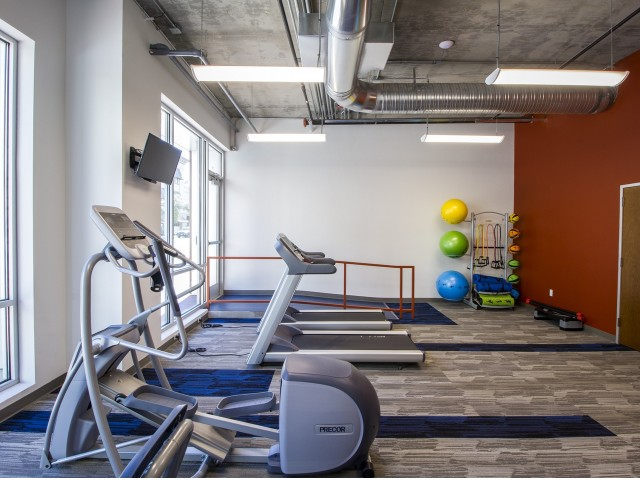 State-of-the-Art Fitness Center   Tucson Apartments   One East Broadway Corporate