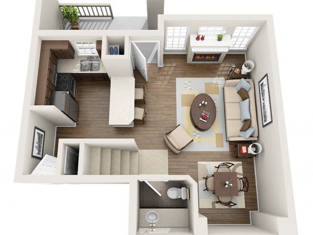 Floor Plan 5 | ALARA Greenwood Village