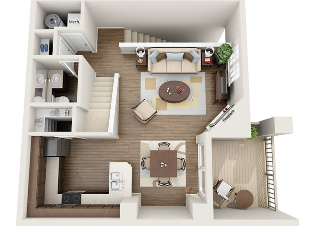 Floor Plan | ALARA Greenwood Village