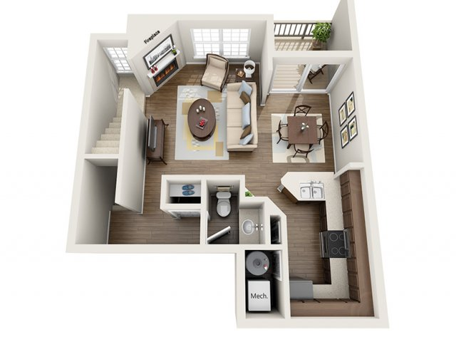 Floor Plan 6 | ALARA Greenwood Village