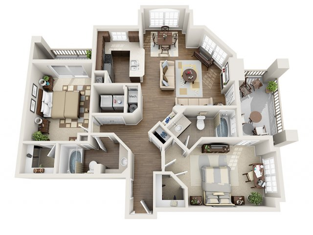 Floor Plan 2 | ALARA Greenwood Village