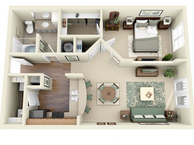 Floor Plan 2 | Weston Lakeside