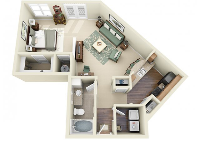 Floor Plan 3 | Weston Lakeside