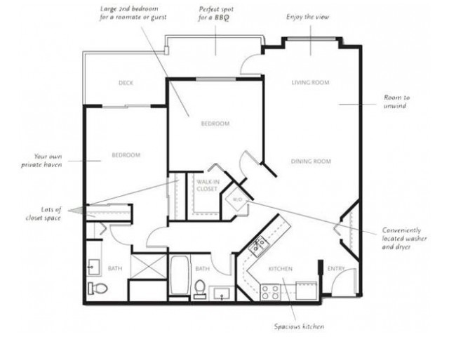 2 Bed Type A