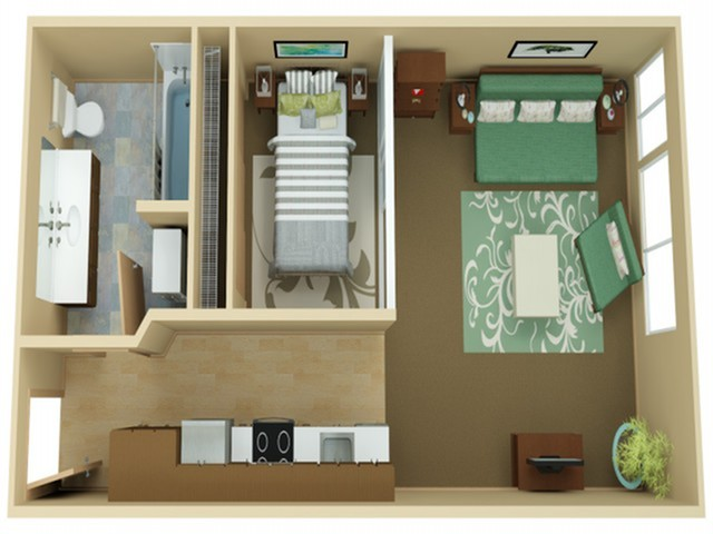Urban One Bedroom