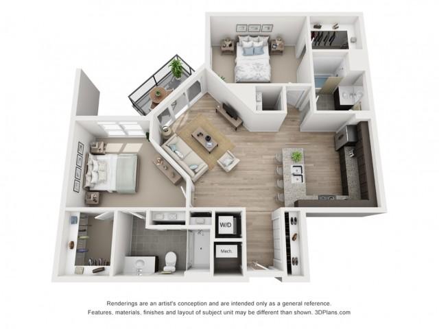 B8 Floor Plan