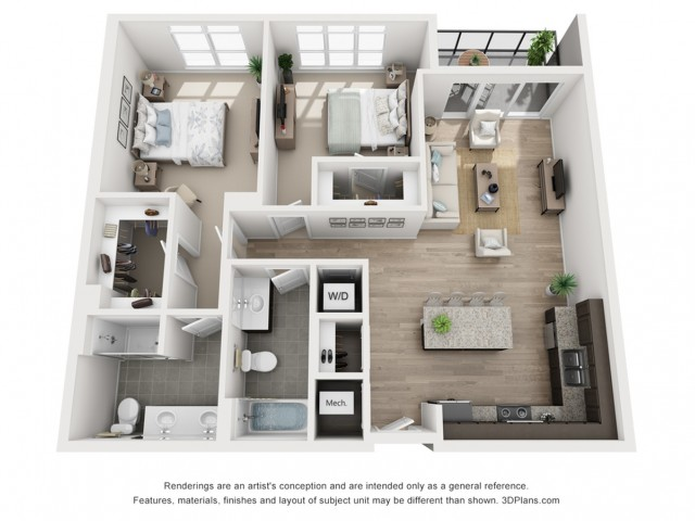 B9 Floor Plan