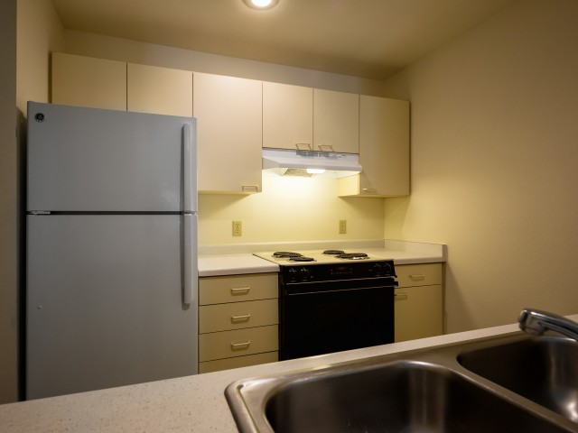 Image of Electric Range, Refrigerator, and Dishwasher Provided for Janesville Riverplace