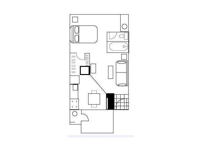 Floor Plan 1 | Austin Apartments | Barton\'s Mill