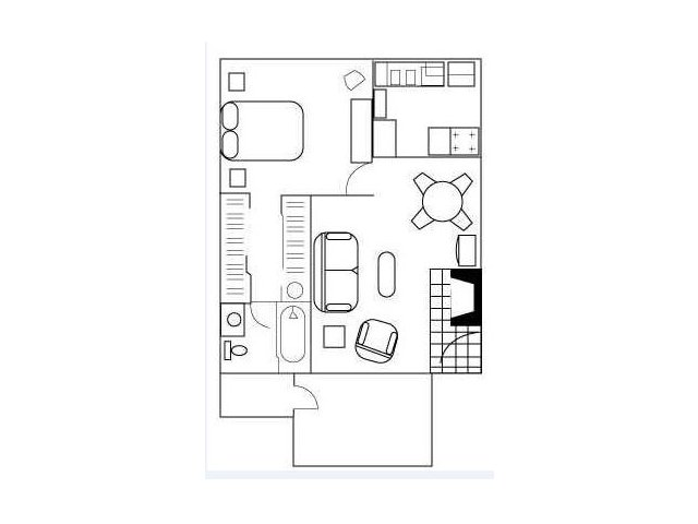 Floor Plan 2 | Apartments In Austin Tx | Barton\'s Mill