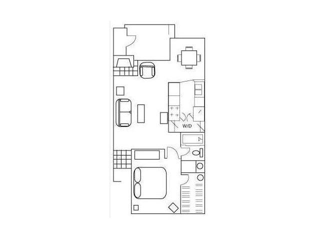 Floor Plan 3 | Apartments In Austin | Barton\'s Mill