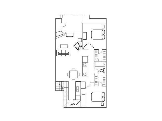 Floor Plan 4 | Apartment For Rent In Austin Texas | Barton\'s Mill
