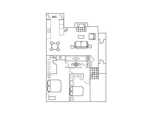 Floor Plan 5 | South Austin Apartments | Barton\'s Mill