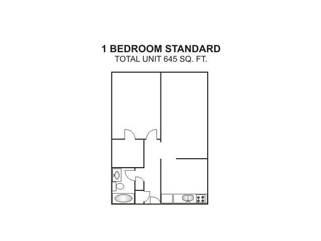 One Bedroom Standard