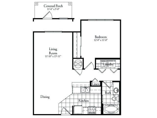 One Bedroom | Classic | 749 sqft
