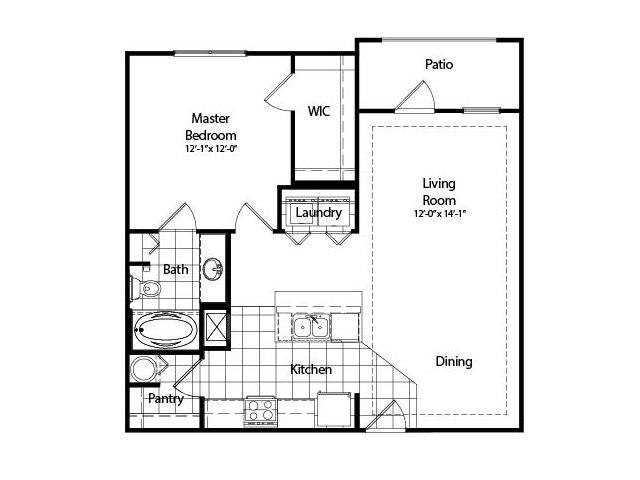 One Bedroom | Deluxe | 794 sqft