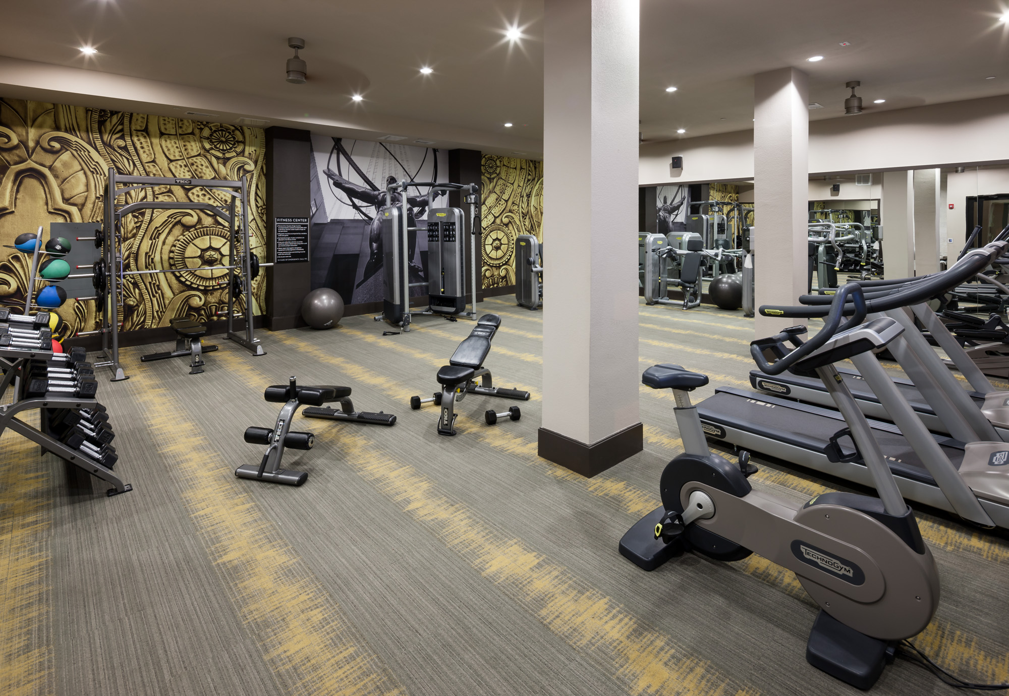 State-of-the-Art Fitness Center | Luxury Apartments In San Antonio Texas | 1800 Broadway