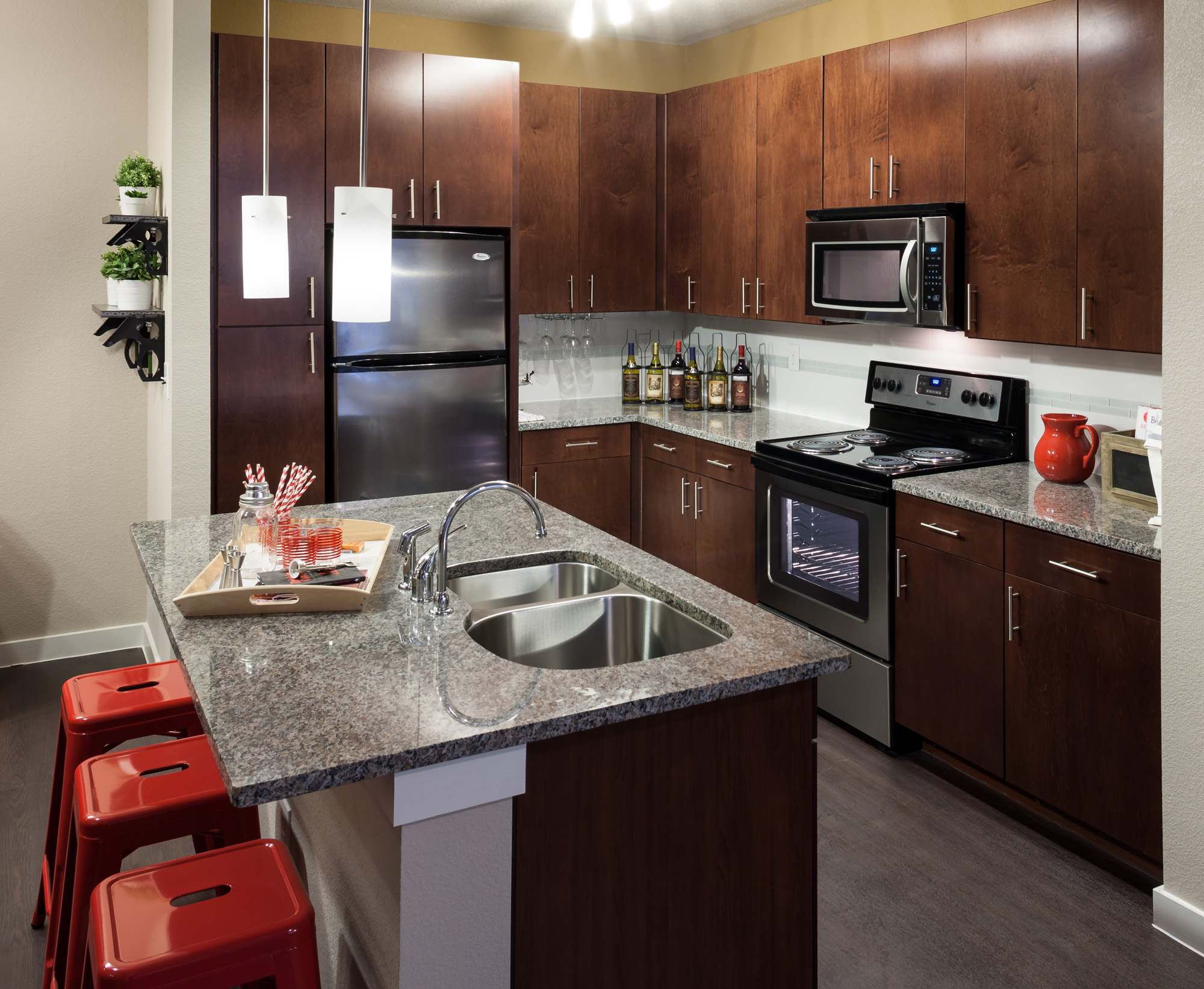 State-of-the-Art Kitchen | San Antonio Apartments | 1800 Broadway