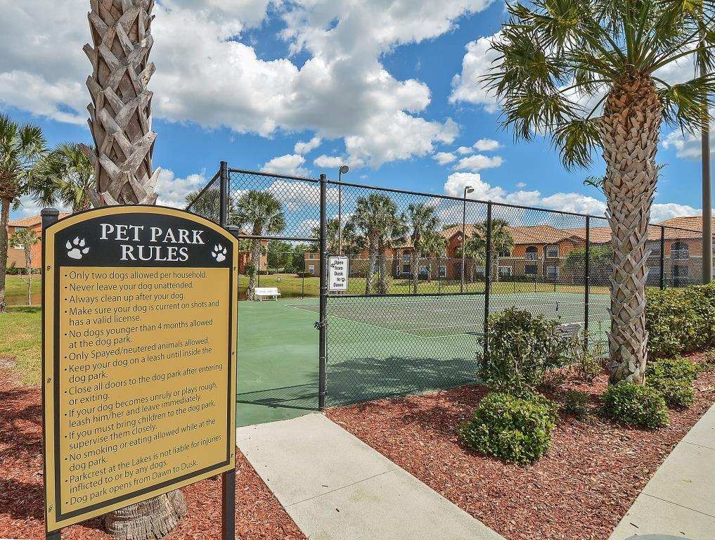 Pet Park | Fort Myers Apartment Homes | Park Crest at the Lakes