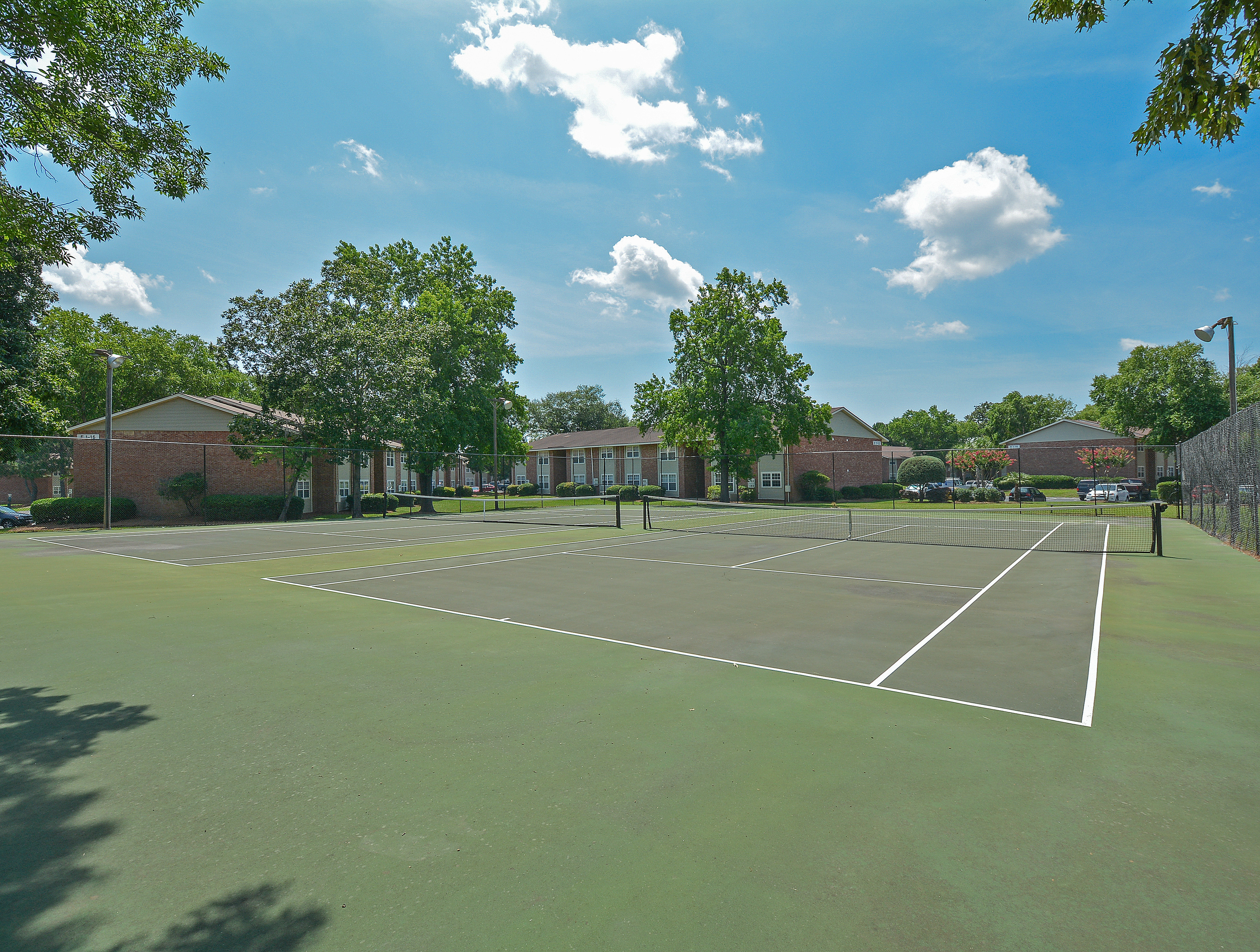 Two Tennis Courts | Park Place Apartments