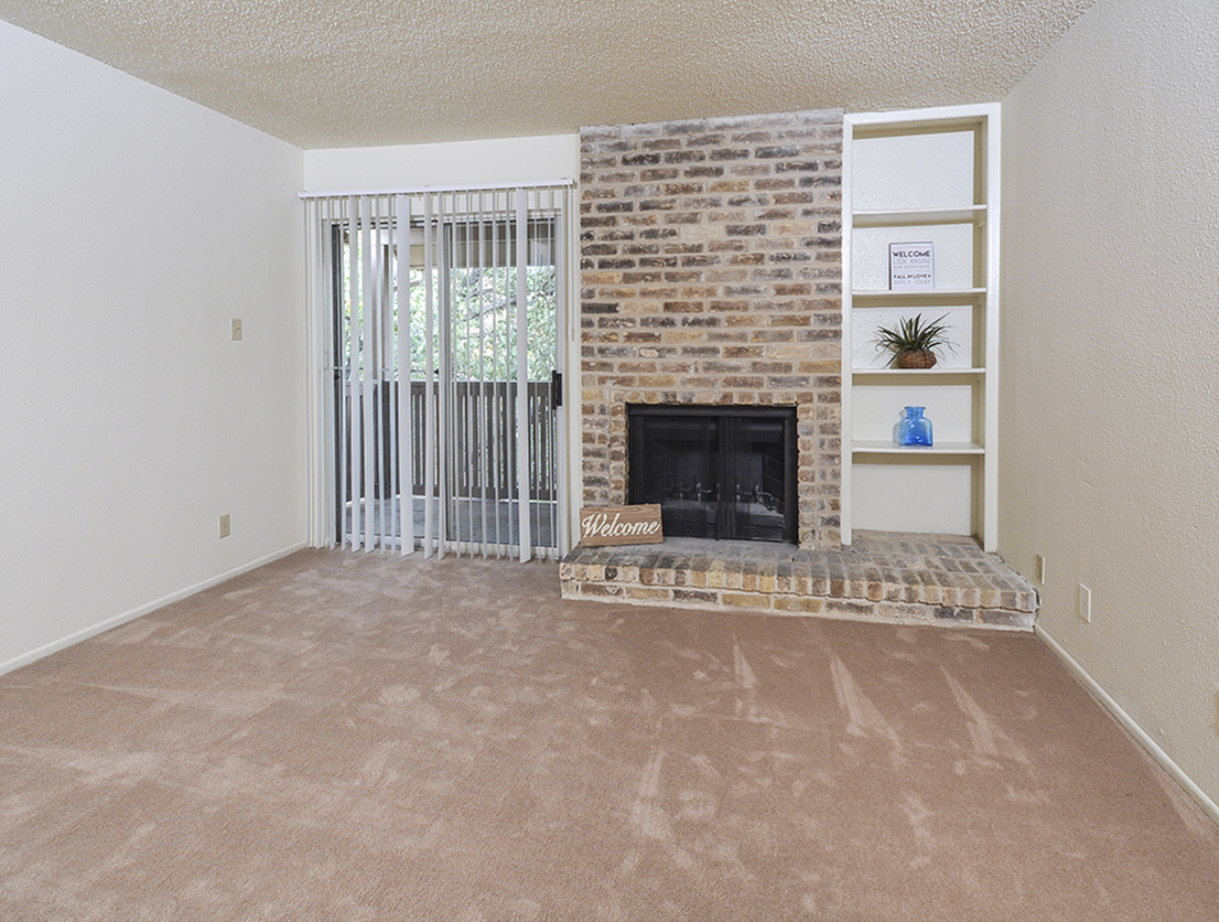 Image of Fireplace* for Oak Springs Apartments
