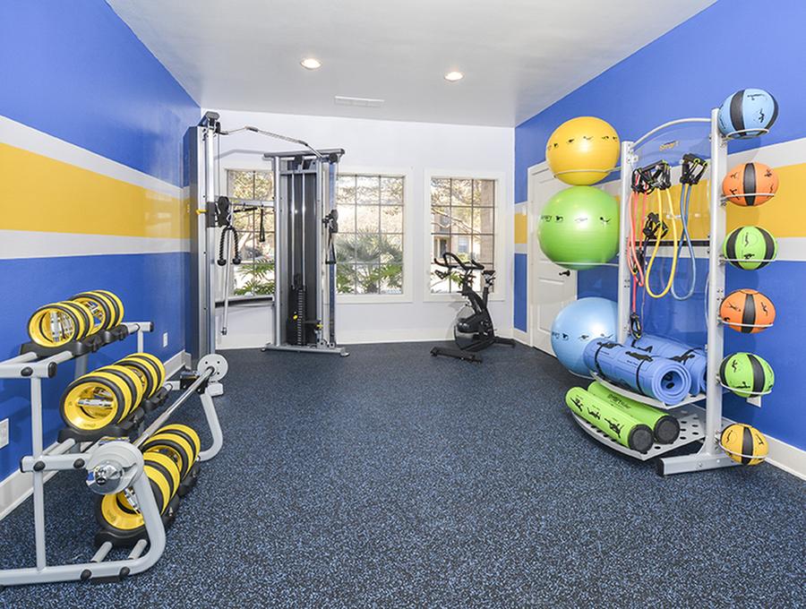 Fitness Center | San Antonio | Canyon Point Apartments