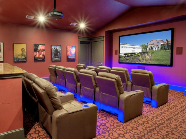 Image of Movie Theater with Reclining Seats for Southpark Crossing Apartments