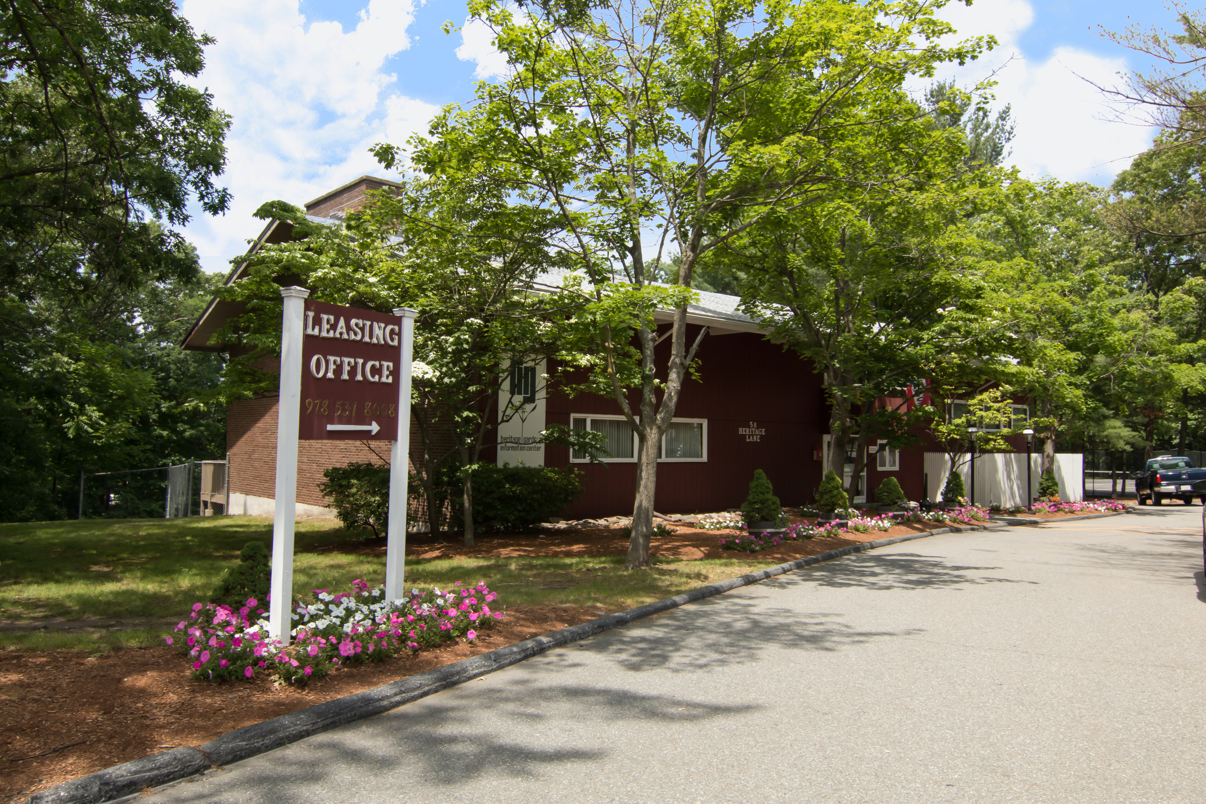 Leasing Office | Heritage Gardens | Leominster MA