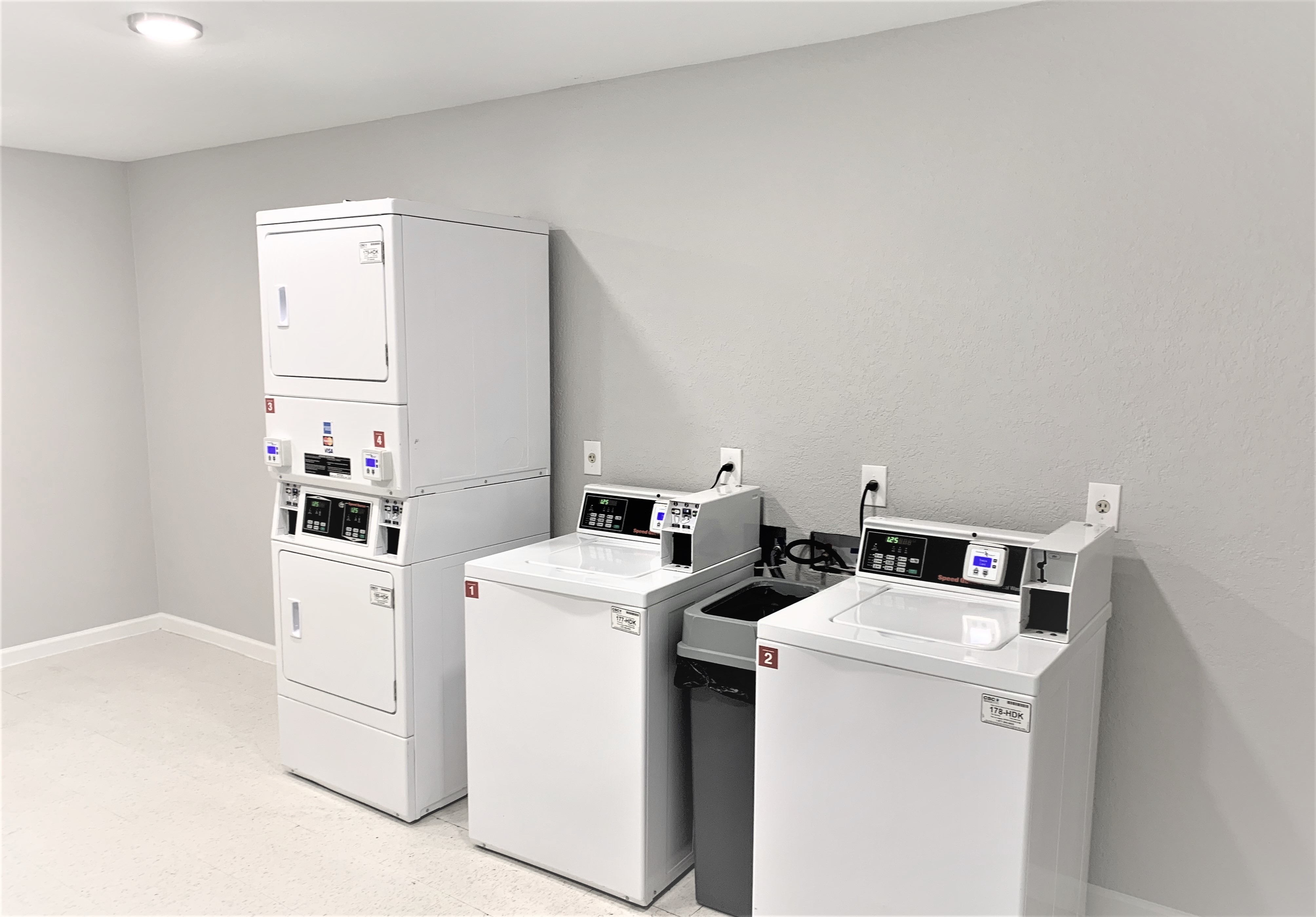 Clothing Care Center | Coinless Machines | Centennial Place Apartment Homes