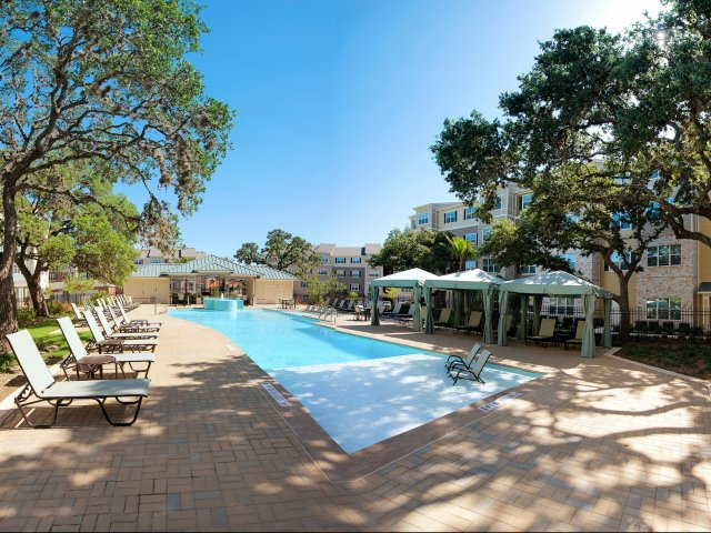 Resort Style Pool | Large Pool Deck | San Antonio Texas