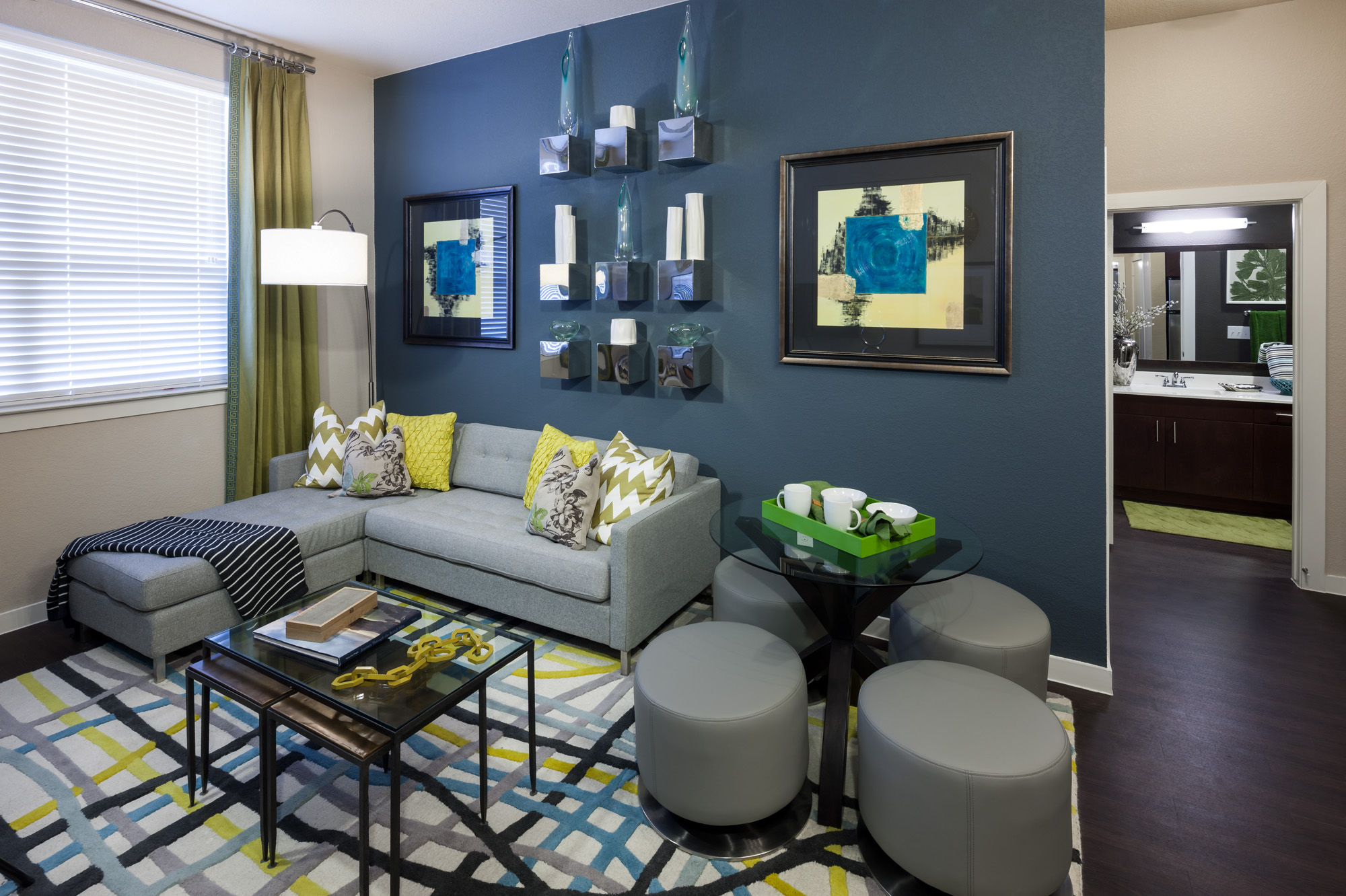 Spacious Living Room | Luxury Apartments In San Antonio | 1800 Broadway