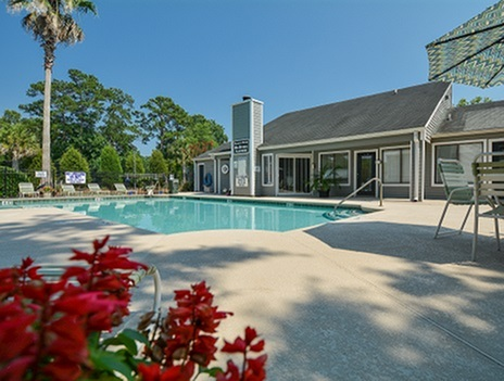 Sparkling Pool | Deer Run Community | North Charleston SC