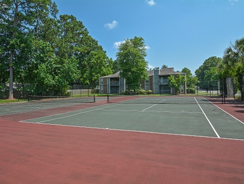 Tennis Courts | Deer Run Apts | North Charleston SC