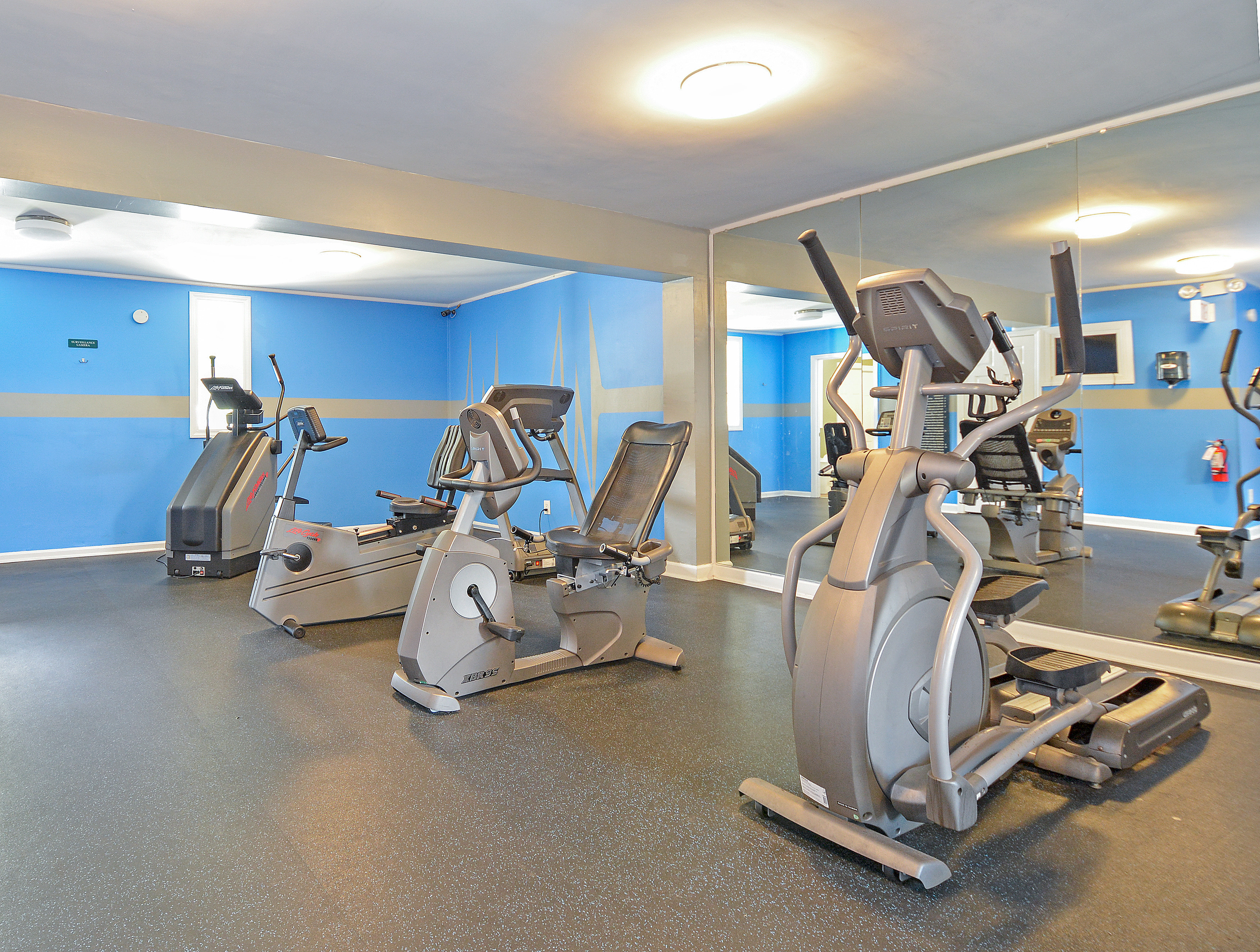 Fitness Center   Cardio Equipment   Park Place Apartments