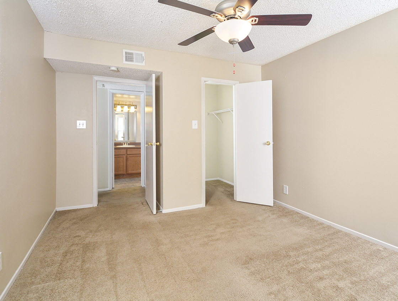 Bedroom | Large Closet | Riverstone Apts | San Antonio TX