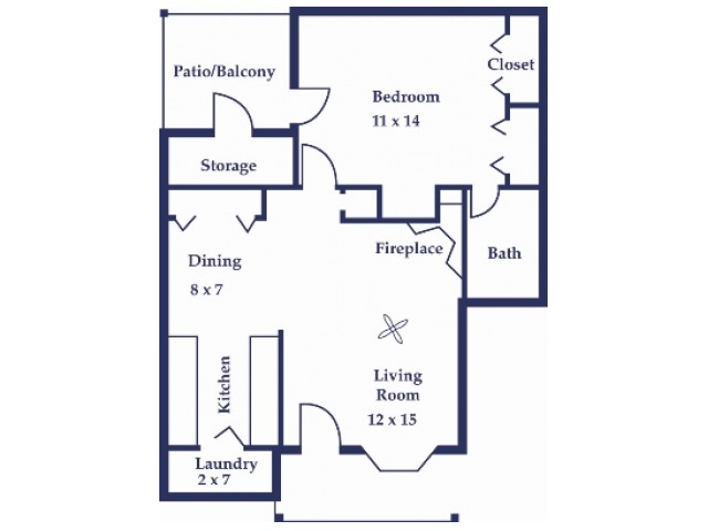 One Bedroom/One Bathroom 