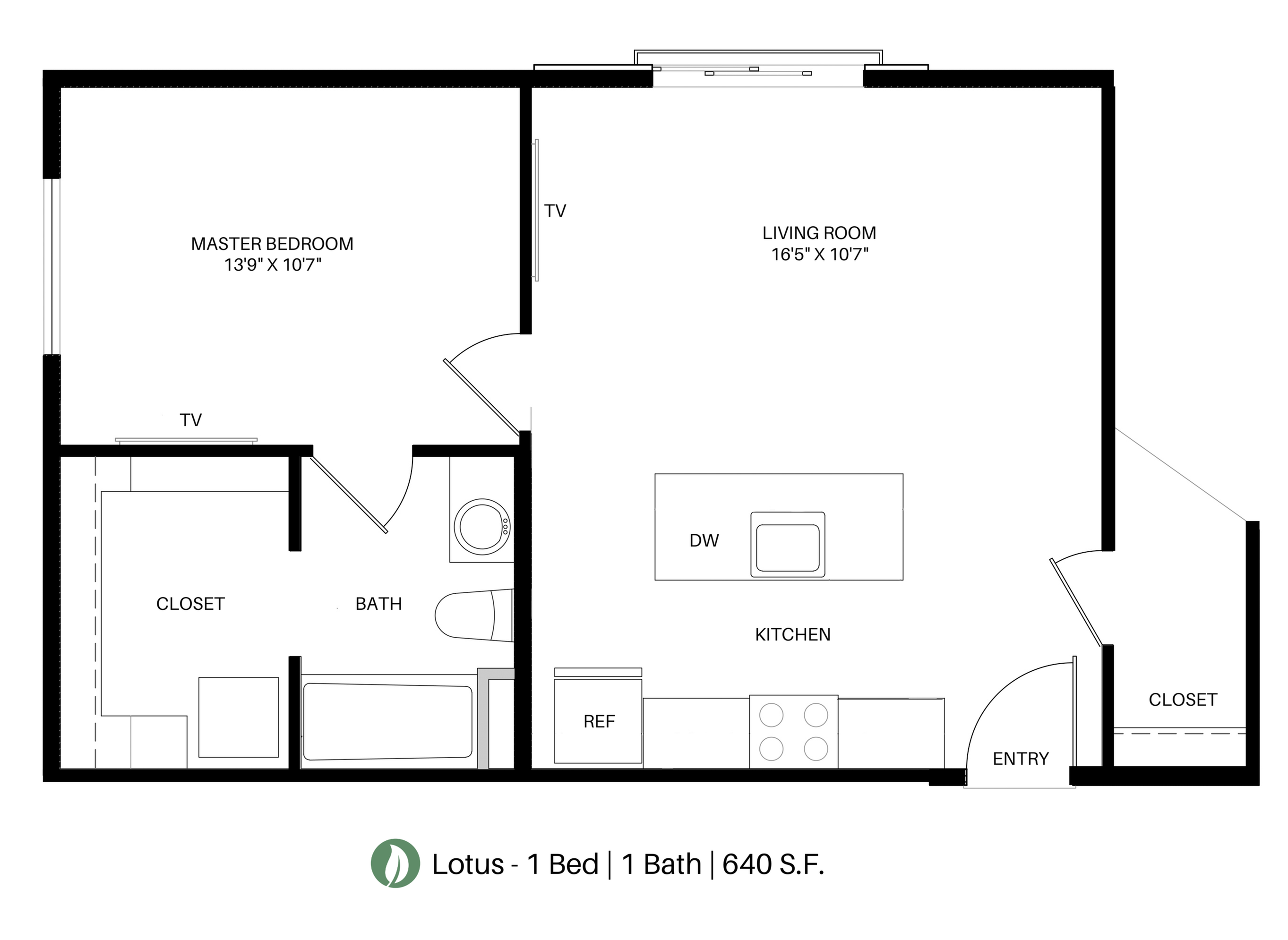 The Lotus Floor Plan Layout