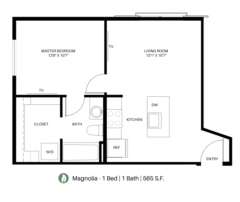 The Magnolia Floor Plan Layout