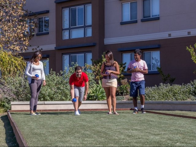 Image of Bocce Ball Court for University Village San Marcos