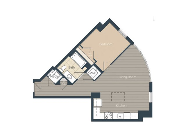 The Bradley Floor Plans Apartments In Alexandria Va Enchanting 1 Bedroom Apartments In Alexandria Va