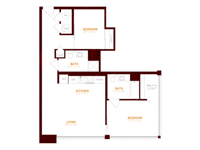 Brookland press floor plans foundry 607 in brookland dc for 1200 first street ne 5th floor