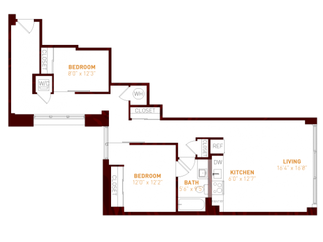 Brookland press floor plans foundry 107 in brookland dc for 1200 first street ne 5th floor