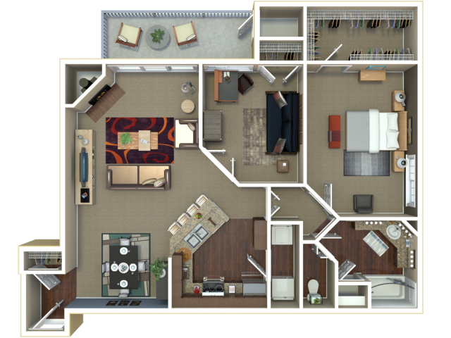 Manhattan Ks Bedroom Apartments Floor Plans Layouts