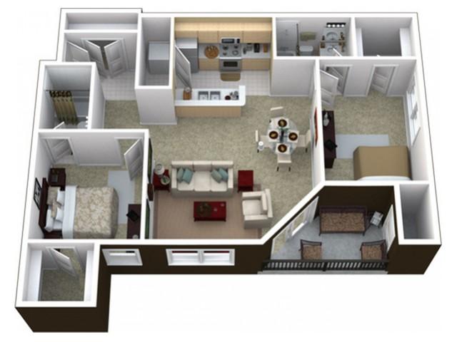 Manhattan ks 1 2 bedroom apartments floor plans for One bedroom apartments manhattan ks