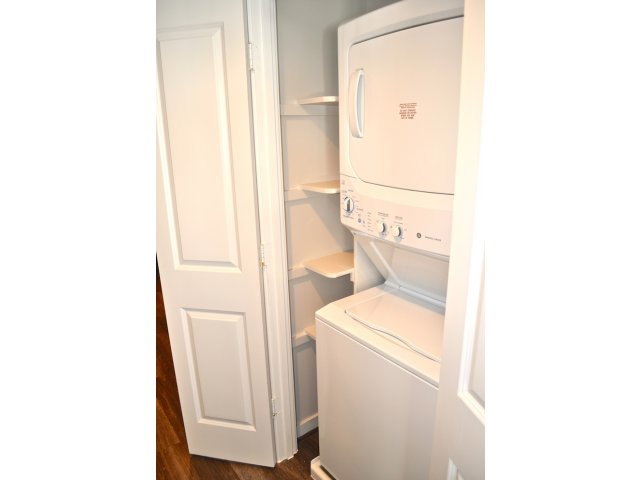 Image of Front Loading GE Washer/Dryer for Virginia Square Towers
