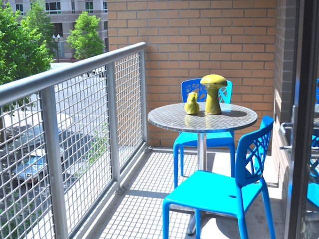 Image of Private Balcony Available with City Views for Virginia Square Towers