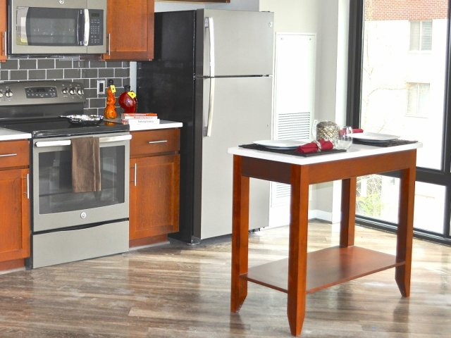 Image of Moveable Kitchen Islands for Virginia Square Towers