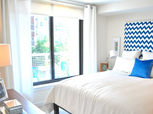 Image of Floor to Ceiling Energy Efficient, Noise-Reducing Windows for Virginia Square Towers