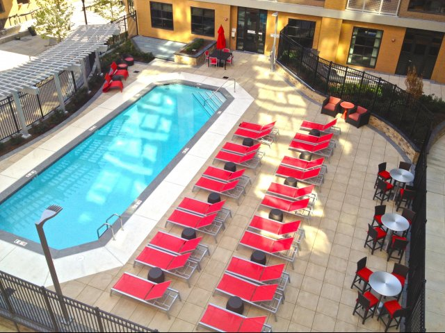 Image of Outdoor Swimming Pool for Virginia Square Towers